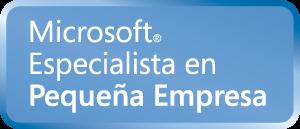 Microsoft especialista en Pequeña Empresa